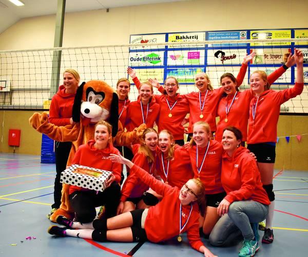 Lutheria meisjes C1 kampioen