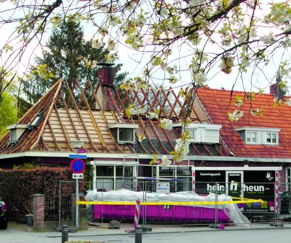 Afbraak panden Scholtinkstraat