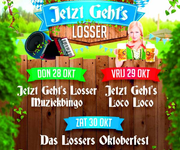 Extra kaarten Jetzt Geht's Losser