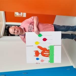 Verjaardagsbox extra kleurrijk door Sempre Crescendo