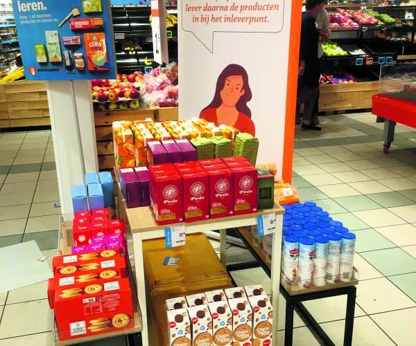 Actie Voedselbank Losser enorm succes