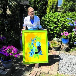 Suze Berendsen komt met haar eerste kinderboek 'De avonturen met Chantal'