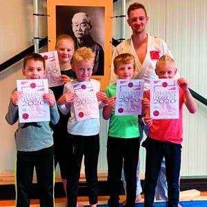 Diploma voor Lekker Fit Judo