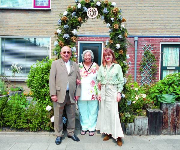 Echtpaar Laarhoven 60 jaar getrouwd