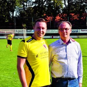 Sportclub Overdinkel zet Ab Kroeze en Dennis Stoffels in het zonnetje