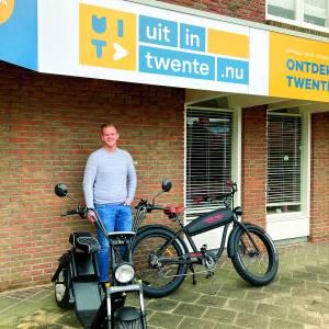 Duurzaam elektrisch cruisen bij Uit in Twente