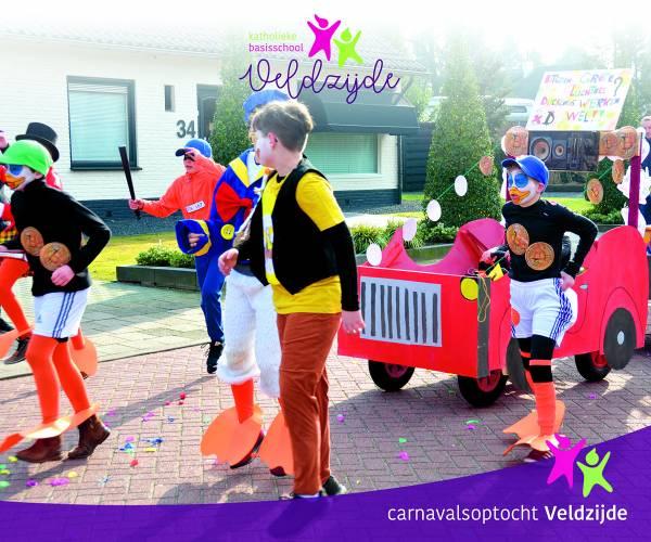Carnaval op Basisschool Veldzijde