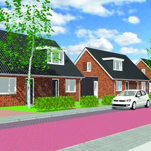 Levensloopbestendig en duurzaam<br />Acht nieuwe koopwoningen in de Julianastraat in Overdinkel