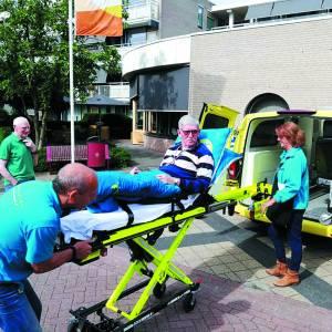 Wens ambulance van Losser naar Zeeland